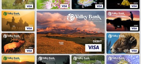 collage of new debit card gallery images